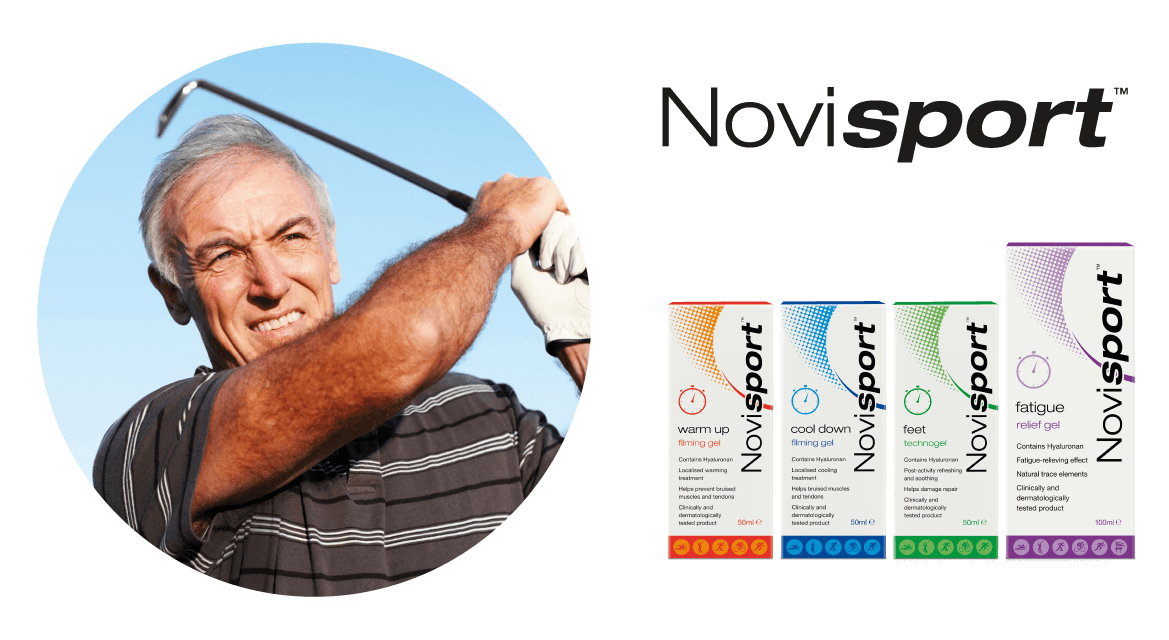 Novisport relief from general aches and pains